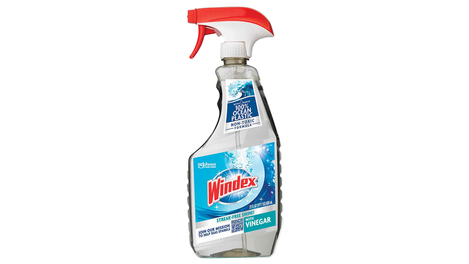 windex ocean plastic recycled bottle