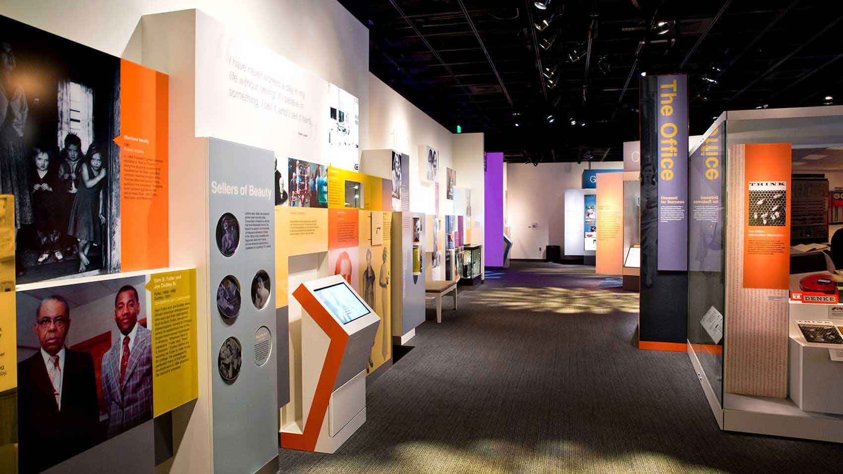 Smithsonian's National Museum of American History exhibit featuring SC Johnson