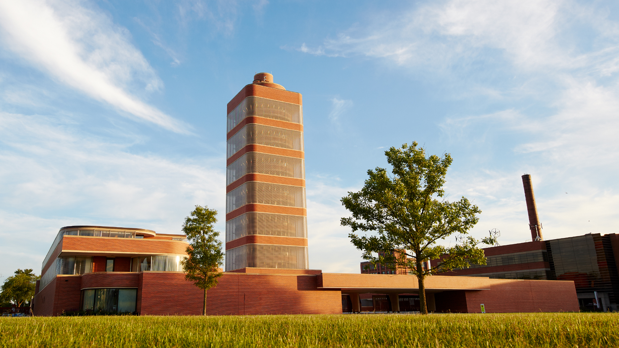 Frank Lloyd Wright-designed Research Tower at SC Johnson headquarters