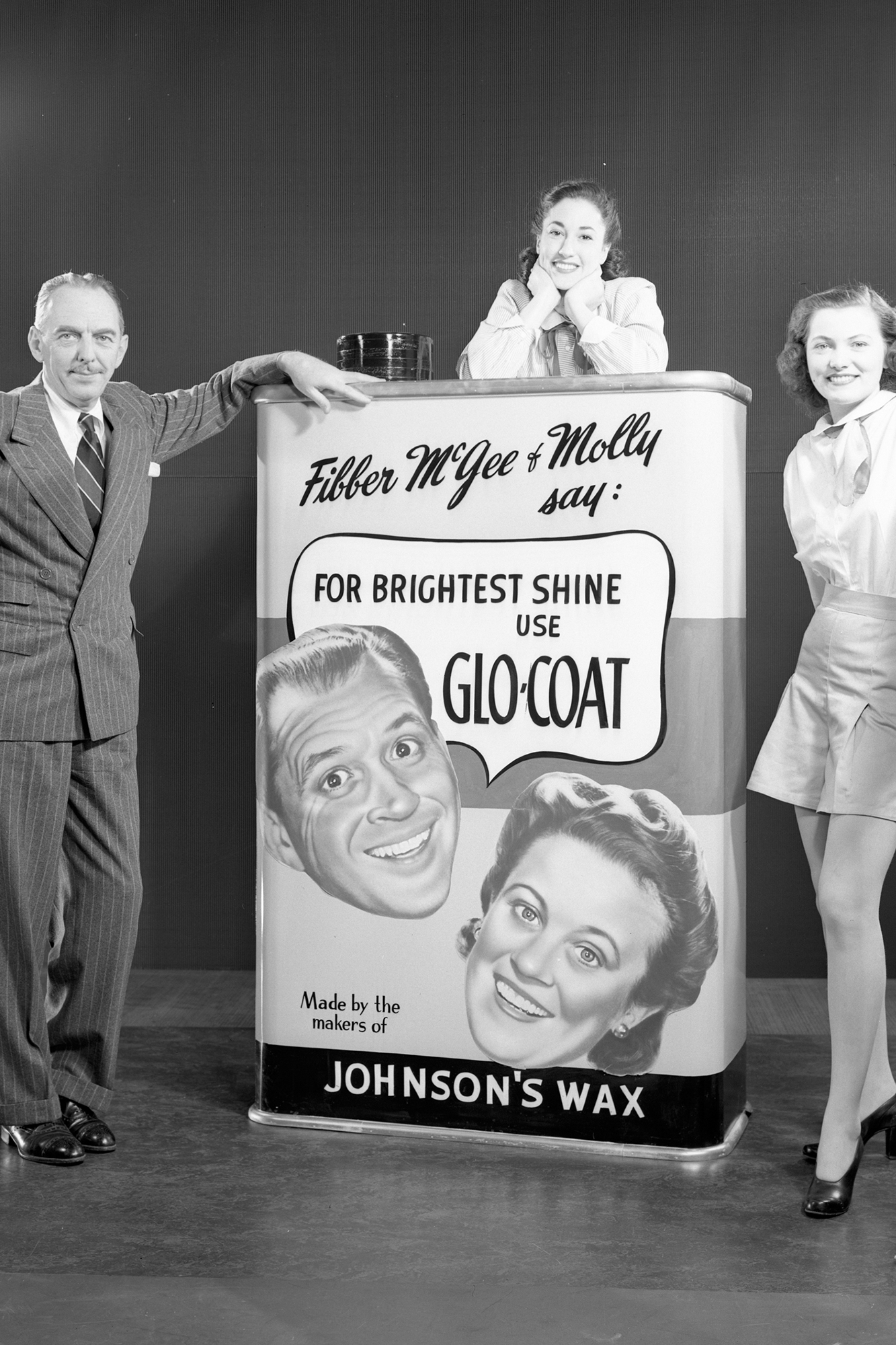 Vintage Glo-Coat™, do antigo programa de rádio de Fibber e Molly McGee.