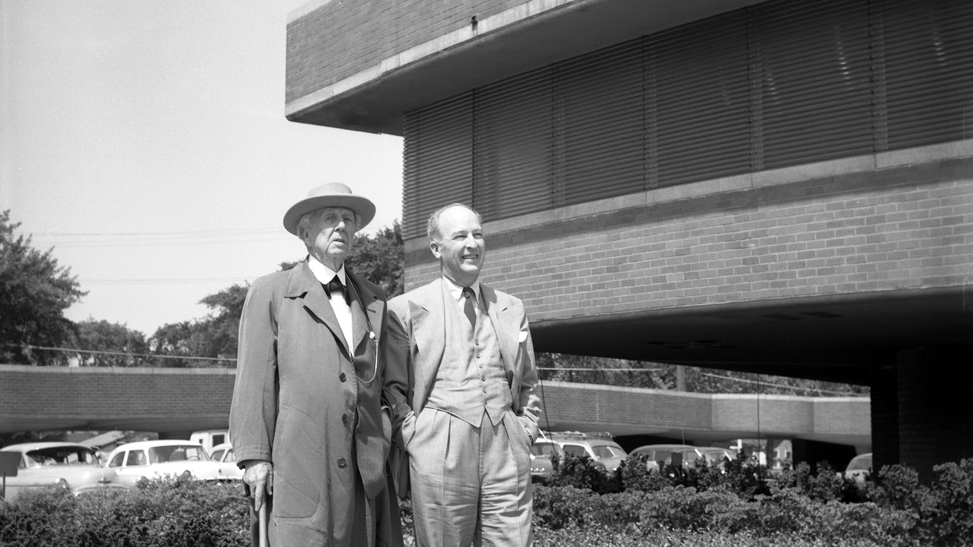 H.F. Johnson, Jr. and Frank Lloyd Wright