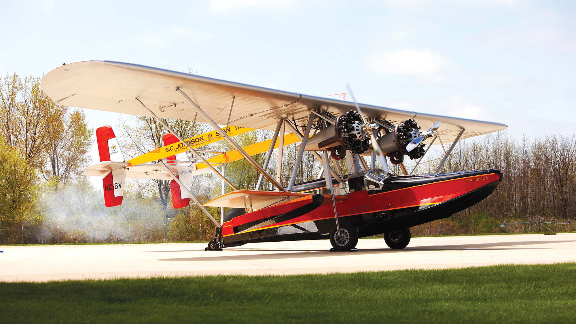 L'avion amphibie Carnauba de Sam Johnson
