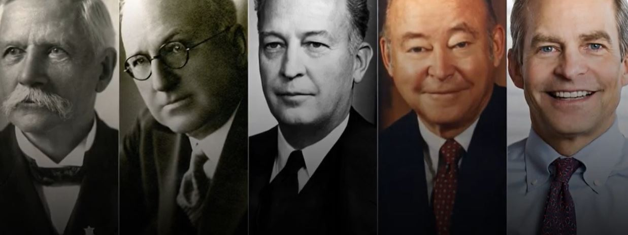 The five generations of SC Johnson leaders