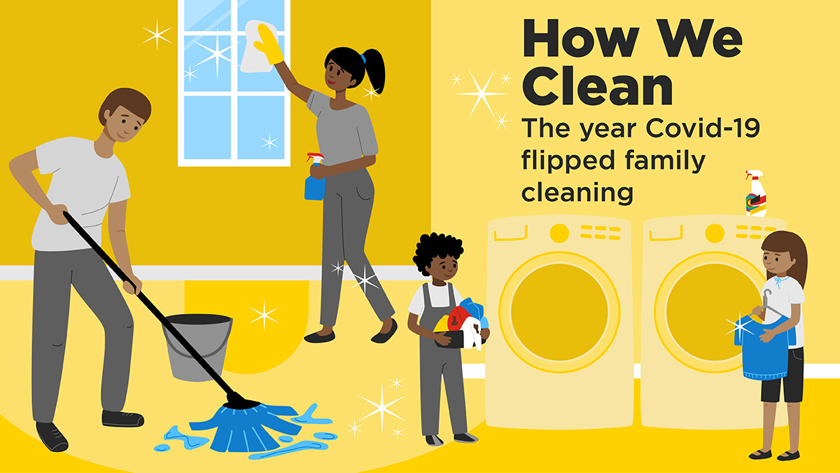 How We Clean: The year COVID-19 flipped family cleaning
