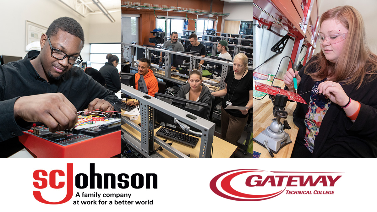 Donation of $5.5 Million to Gateway Technical College provides 4-year scholarship opportunities to underserved communities in STEM-related career fields
