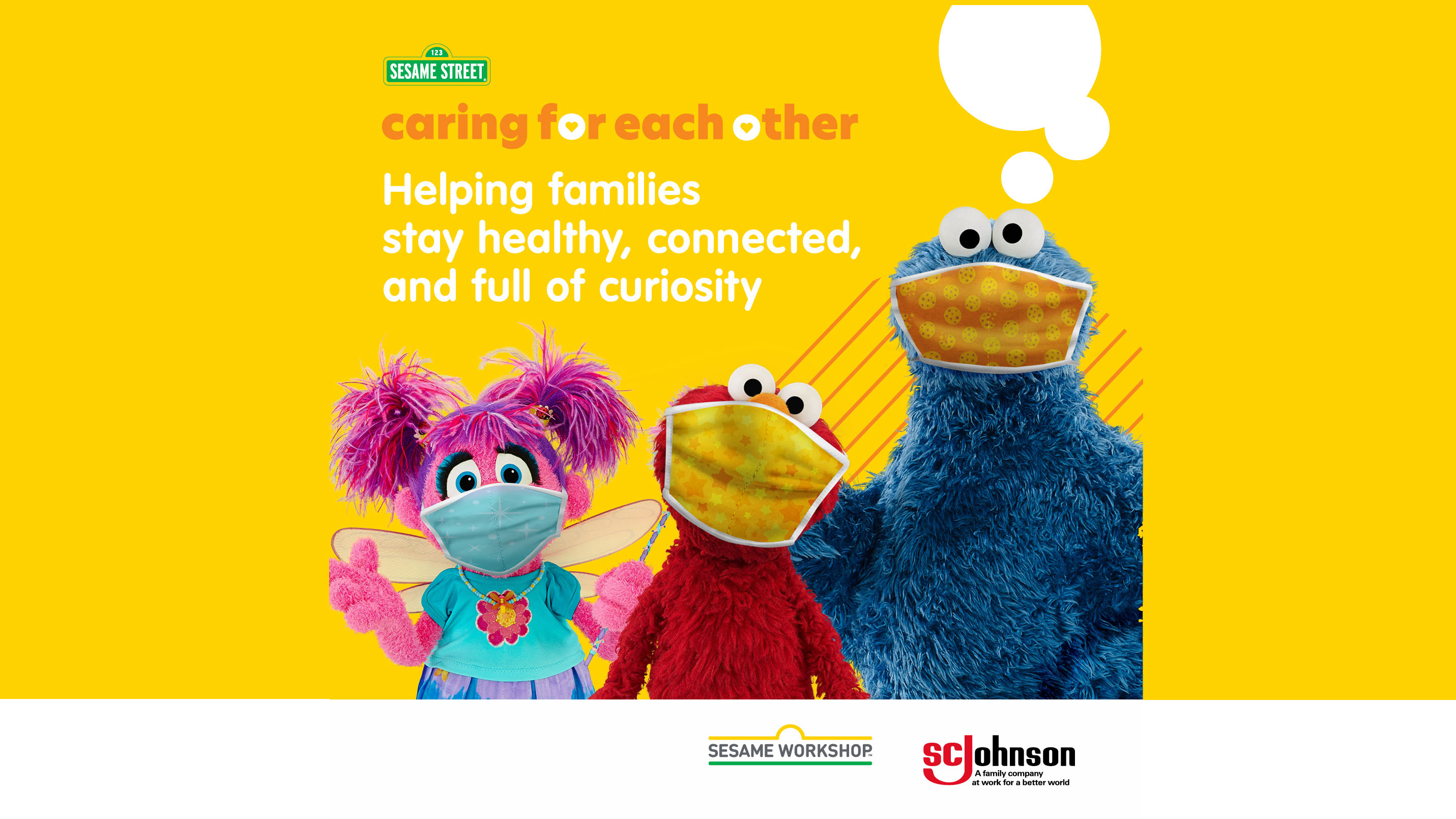 Sesame Workshop Caring For Each Other initiative